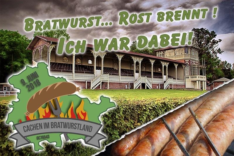 MEGA-Event: Cachen im Bratwurstland